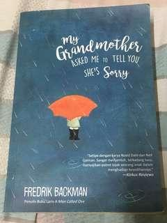 Novel My Grandmother asked me to tell you she's sorry