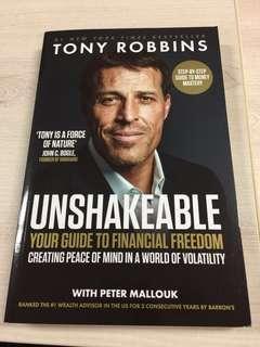 Unshakeable - Tony Robbins (Brand New Paperback)
