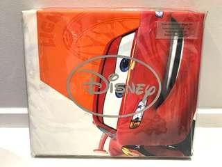🚚 Disney Cars Super Single Fitted Sheet and Pillowcase and Bolster case