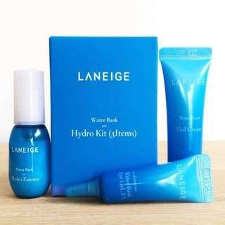 🚚 Laneige Water Bank Hydro Kit Sets