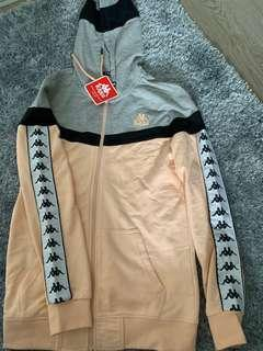 BNWT small kappa zip jumper