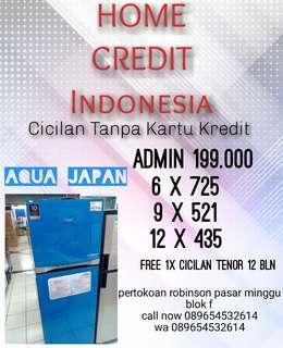 Promo Cicilan Tanpa Dp Kulkas Aqua Japan Kredit cepat