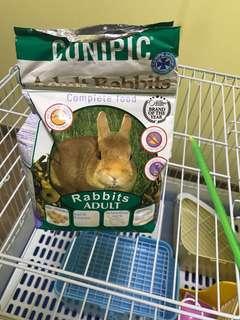 Cunipic rabbit bunny pellets plus corn flakes