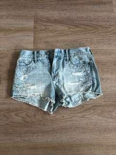 🚚 Denim shorts Abercrombie & Fitch