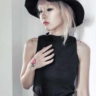 AFA Top in Black