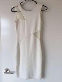Miss Selfridge XS White Dress