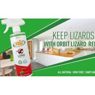 [Bundle of 2 x 500ml - Natural or Citrus] Bio-D Orbit Lizard Repellent Spray