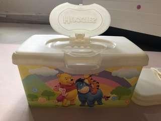 $30/2個 Huggies Baby BB 嬰兒 外出街 濕紙巾盒