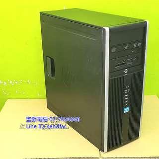 吃雞 紅彩六號 HP 8200 Elite i7-2600 8G 500G RX460 聖發二手電腦
