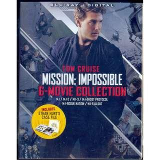 Mission Impossible 6 Movie Collection [ Blu-Ray ]