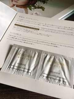 Cle de peau concentrated brightening serum sample