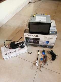 Keenwood DDX7017BT dan Kenwood KCA-WL 100