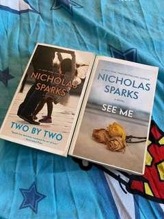 Nicholas Sparks SEE ME & TWO BY TWO
