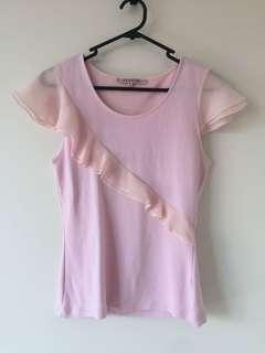 Review Pink top
