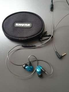 🚚 Shure SE215 Special Edition with inline remote and mic