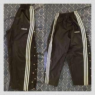Adidas Tear away Track pants 💕