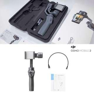(Brand New) Osmo Mobile 2 3-Axis Gimbal Stabilizer