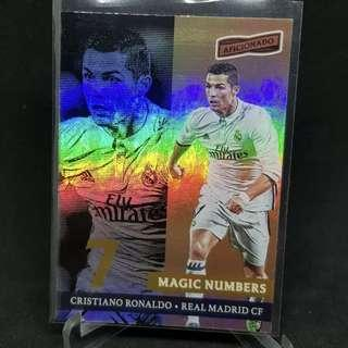 🚚 2017 Panini Aficionado Soccer Cristiano Ronaldo Magic Numbers
