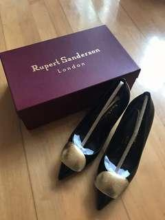 Rupert Sanderson Gold Heels