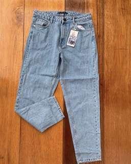 Zara Highwaist Mom Jeans