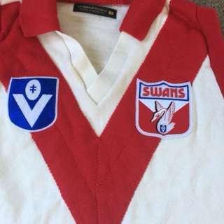 PRICE DROP Mens Sydney Swans vintage Top