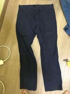 Bossini dark blue office pants