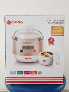 Sona 0.8L Double Boiler
