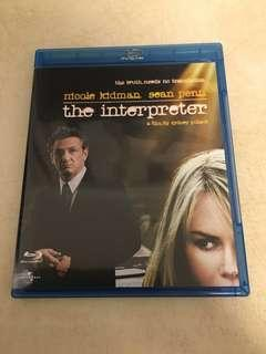 The Interpreter- Blu-Ray