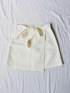 Korean White Skort