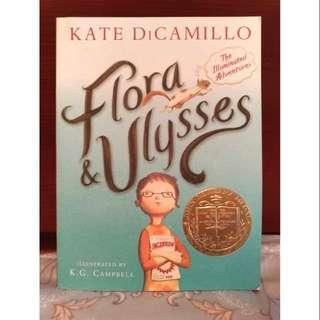 🚚 全新Flora and Ulysses(會寫詩的神奇小松鼠 / 紐伯瑞兒童文學金牌獎)