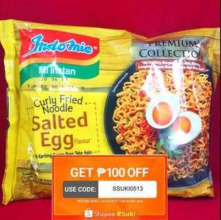 IndoMie Salted Egg Noodles FREE 2 PCS