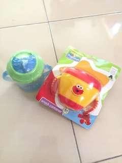 Baby cup and food Catcher