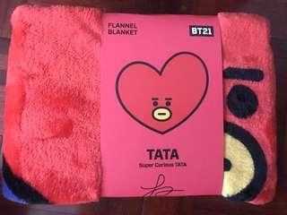 BT21 Tata Blanket