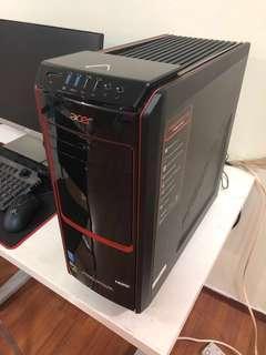 Acer i7 4790 Desktop Gaming PC (16GB DDR3 Ram, GTX 760, 120GB SSD, 1TB HDD, Wifi AC)