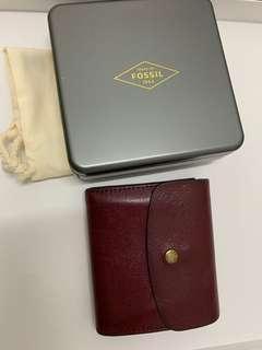 Fossil Wallet Flap