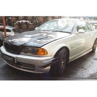 (PO) BMW E46 318 2001 ABS PUMP FOR SALE ( 07510)