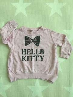 Uniqlo size 110 Hello Kitty long sleeves top