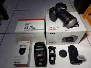 Canon 6D + 24-70mm F2.8(2代鏡) + 430EX II 閃燈 + 副廠手把
