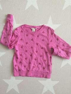 H&M 4-6Y girl top