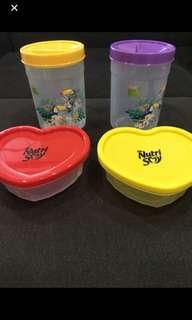 Peel fresh and nutri soy containers - $2