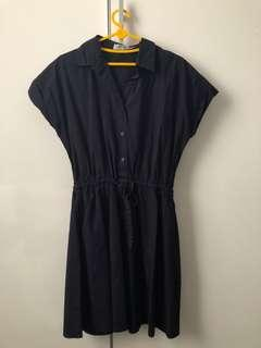 Cottonink Navy Dress