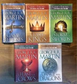 🚚 Game Of Thrones Collection Books 1-5