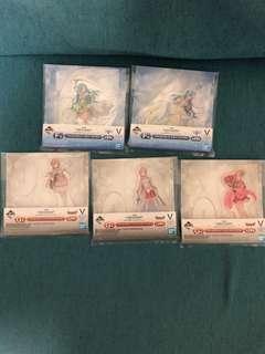 Sword Art Online Ichiban Kuji Asuna Set