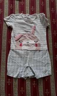 Sleepy Bunny onesie (unisex)
