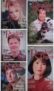 Reader's Digest 2000 #MMAR18 #50TXT