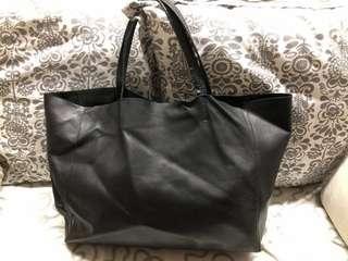 🚚 Auth Celine Cabas Tote Bag (Shoulder, Black)