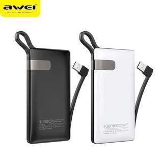 Power bank battery portable power bank with cable fast Charing