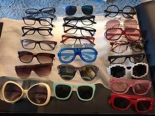 太陽眼鏡 平光鏡 黑框眼鏡 潮流眼鏡 sunglasses eyewear newshades shares