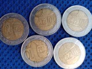 10 piso rare  commemorative coin