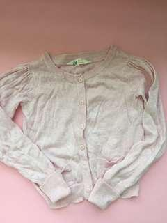 H&M 2-4Y girl cardigan